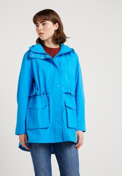 J.CREW - THE PERFECT RAINCOAT - Parka - watercolor sky