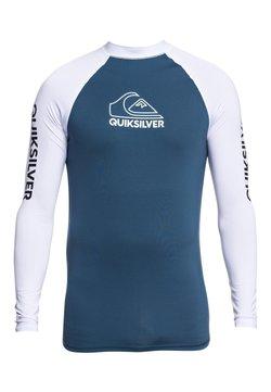 Quiksilver - QUIKSILVER™ ON TOUR - LANGÄRMLIGER RASHGUARD MIT UPF 50 FÜR MÄNN - T-shirt de surf - majolica blue