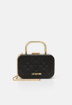 Love Moschino - EVENING BAG - Pikkulaukku - black
