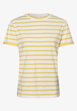 BOSS - T-Shirt print - gelb ecru
