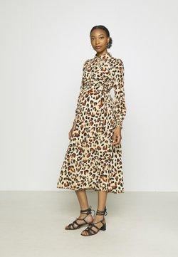 Pieces Maternity - PCMFALISHI SHIRT DRESS - Robe chemise - brown