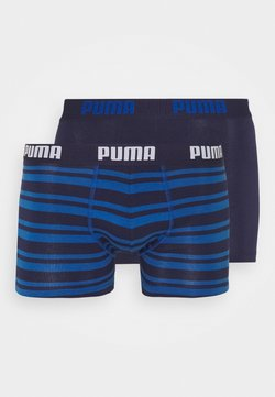 Puma - HERITAGE STRIPE 2 PACK - Panties - blue