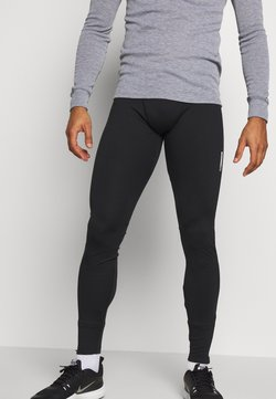 Jack & Jones - JCOZREFLECTIVE RUNNING  - Tights - black