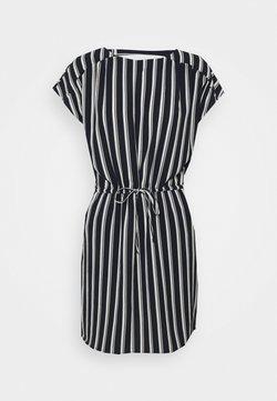 Vero Moda Petite - VMSASHA DRESS  - Freizeitkleid - navy blazer/coco