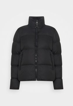 Marc O'Polo - PUFFER JACKET SHORT STAND UP COLLAR ZIPP - Doudoune - black
