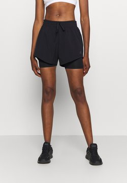 adidas Performance - SHORT 2IN1 - Urheilushortsit - black