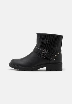 Fitters - LEXI - Cowboy-/Bikerstiefelette - black