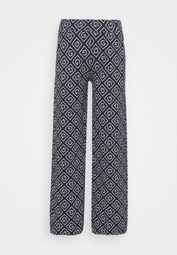 GANT - ICON PANT - Trousers - evening blue