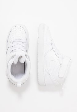 Nike Sportswear - COURT BOROUGH MID UNISEX - Baskets montantes - white