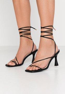 BEBO - RICHIE - Korolliset sandaalit - black
