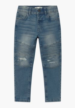 Cotton On - BIKER MOTO  - Slim fit jeans - alaskin mid blue wash