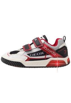 Geox - INEK BOY - Sneaker low - white/red