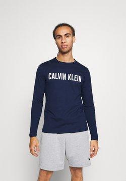Calvin Klein Performance - LONG SLEEVE - Pitkähihainen paita - blue