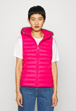 Tommy Hilfiger - ESSENTIAL VEST - Smanicato - ruby jewel
