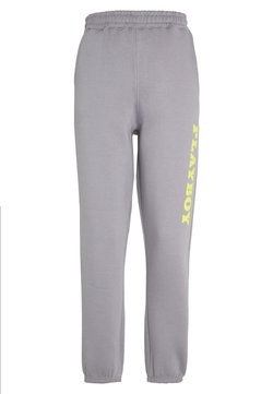 Missguided - PLAYBOY 90S OVERSIZED JOGGER - Jogginghose - charcoal