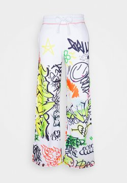 Jaded London - WIDE LEG GRAFFITI PRINT - Pantaloni sportivi - multi