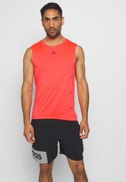 adidas Performance - ADIZERO HEAT.RDY SPORTS RUNNING SINGLET TANK - Camiseta de deporte - sigpnk