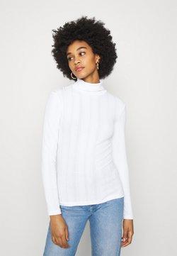 Even&Odd - Långärmad tröja - white