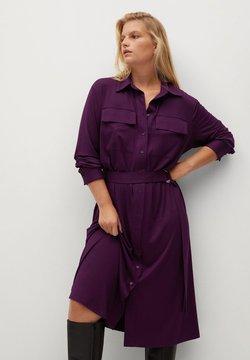 Violeta by Mango - SAHARA - Sukienka koszulowa - bordeaux