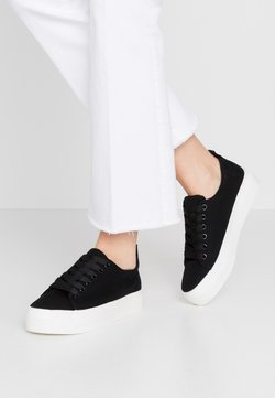 Dorothy Perkins - IYLA LACE UP - Sneakers laag - black