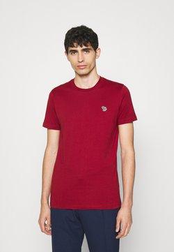 PS Paul Smith - ZEBRA BADGE UNISEX - T-Shirt basic - dark red