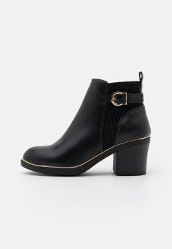 Dorothy Perkins - ASHA CHUNKY METAL RAND - Ankle boot - black