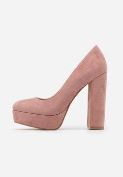 Even&Odd - LEATHER - High Heel Pumps - rose