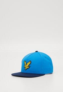 Lyle & Scott - COLOUR BLOCK EAGLE - Cap - dark navy/bright royal blue