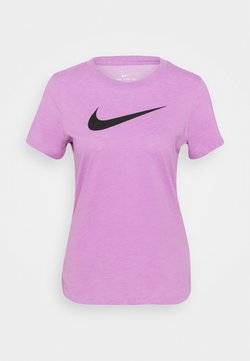 Nike Performance - TEE CREW - T-shirt imprimé - violet shock/pink foam/black
