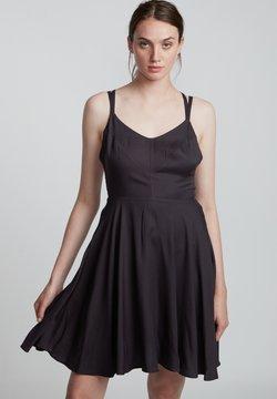 Element - HEART TWILL - Cocktailkleid/festliches Kleid - off black