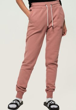 Superdry - ORANGE LABEL - Jogginghose - smoke rose