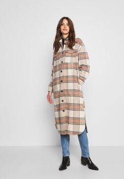 ONLY Tall - ONLLOLLY LONG CHECK COAT  - Wollmantel/klassischer Mantel - multi coloured