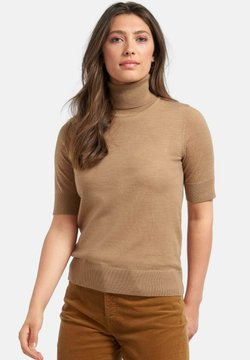 PETER HAHN - Strickpullover - chameau