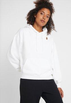Nike Performance - HERITAGE HOODIE - Kapuzenpullover - white