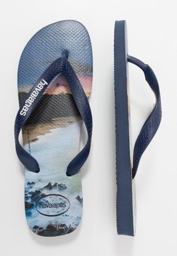 Havaianas - HYPE - Tongs - navy blue/blue star/white