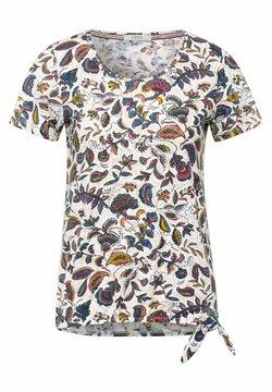 Cecil - MIT PAISLEY - T-Shirt print - weiß