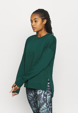Sweaty Betty - AFTER CLASS  - Sudadera - june bug green