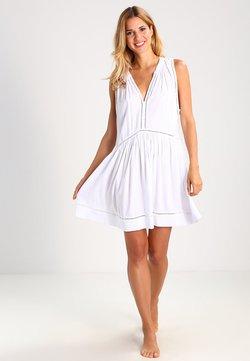 Seafolly - BEACH BASICS LADDER DETAIL DRESS - Accessoire de plage - white