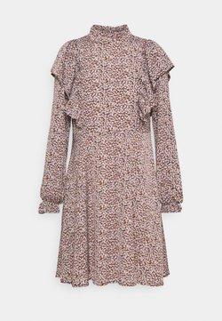 Selected Femme - SLFLISA DITTE SHORT DRESS - Freizeitkleid - cappuccino
