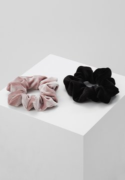 Even&Odd - 2 PACK - Accessori capelli - rose/black