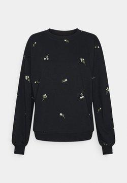 Vero Moda - VMNATALIE - Sweatshirt - black/french vanilla/khaki