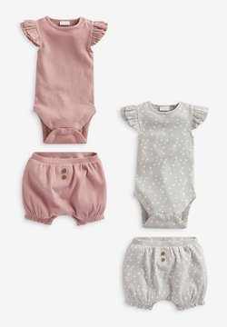 Next - 2 PACK - Body - pink/grey