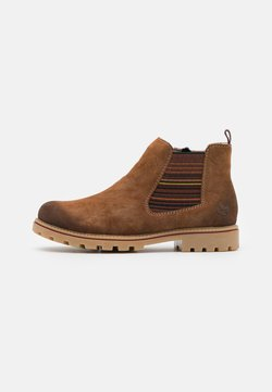 Rieker - Ankle Boot - reh/braun/multicolor