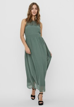 Vero Moda - VMVANESSA DRESS ANCLE - Ballkleid - laurel wreath