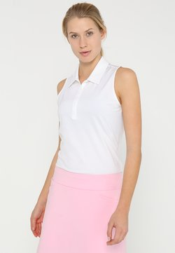 adidas Golf - MICRODOT SLEEVELESS - Polo shirt - white