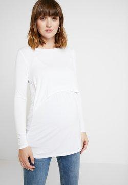 Cotton On - MATERNITY - Camiseta de manga larga - white