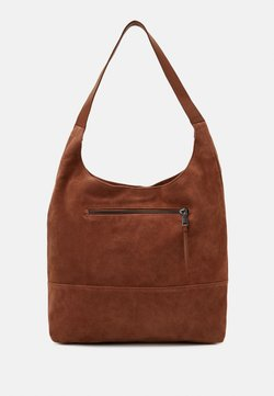 Zign - LEATHER - Handtasche - cognac