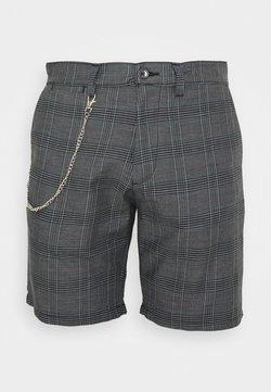 Brave Soul - LEROY - Shorts - grey/white