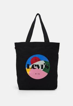 Levi's® - WOMENS SEASONAL GRAPHIC TOTE - Shoppingväska - regular black