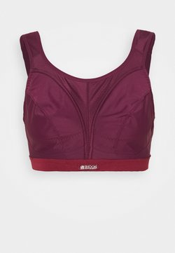 Shock Absorber - CLASSIC SUPPORT - Urheiluliivit - bordeaux